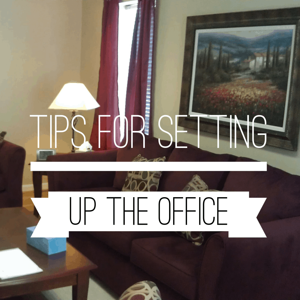 Tips for setting up the office