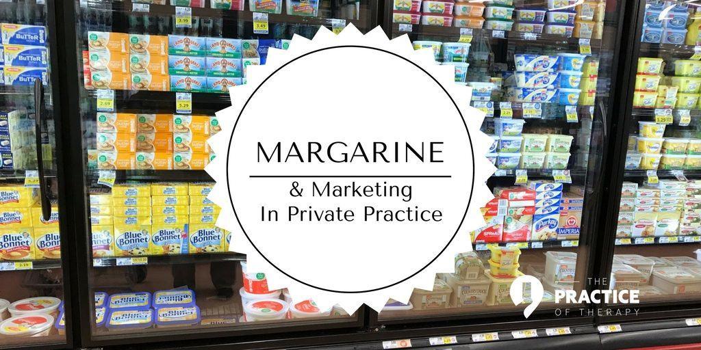 margarine and marketing