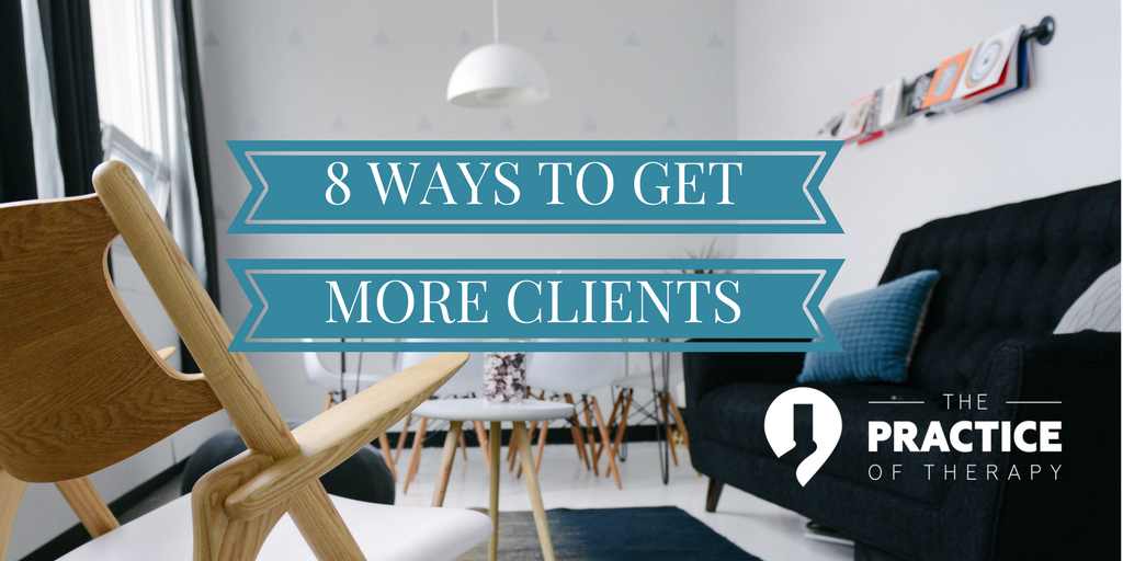 8 ways to get clients