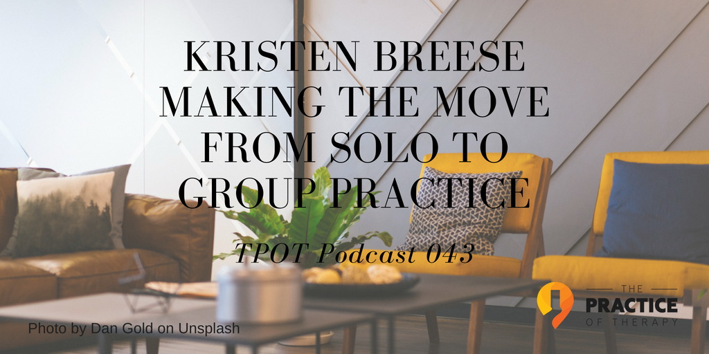 Kristen Breese Solo to Group