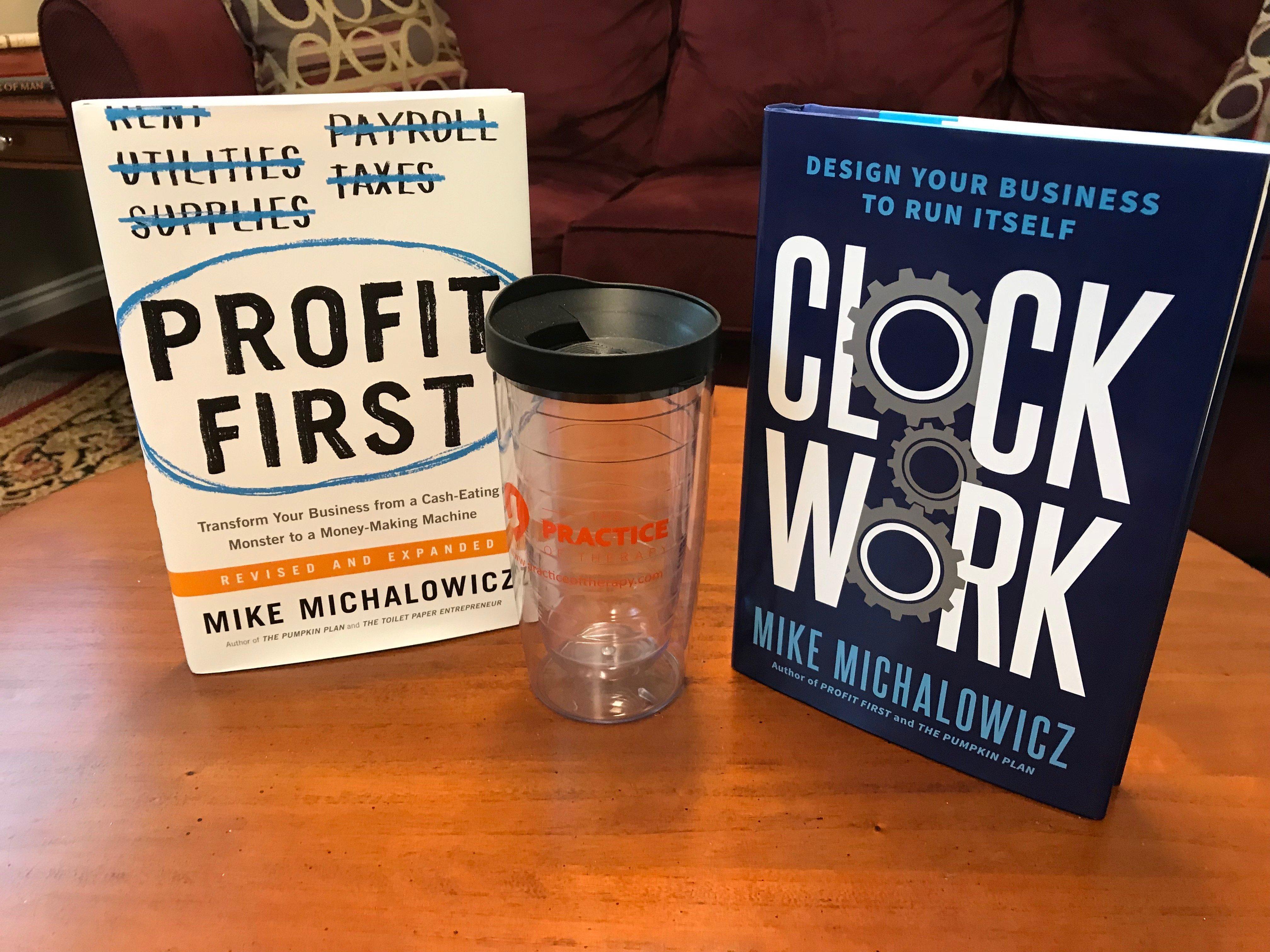 Profit First & Clockwork Giveaway