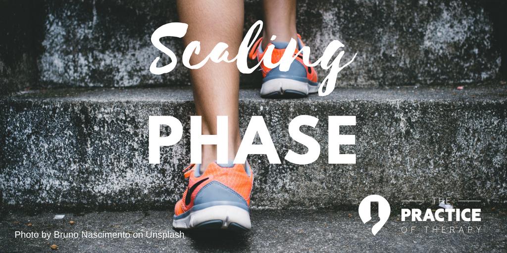 scaling phase
