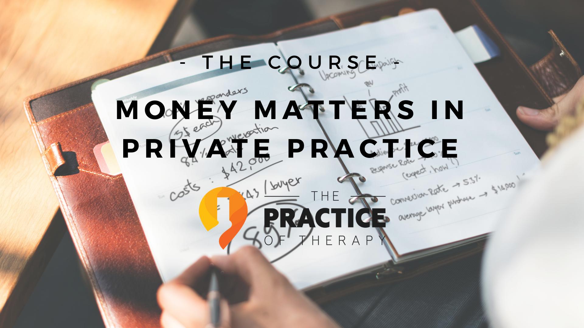 Money Matters Course