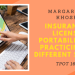 Margarita Khosh | Insurance, License Portability, and Practicing in Different States | TPOT 166