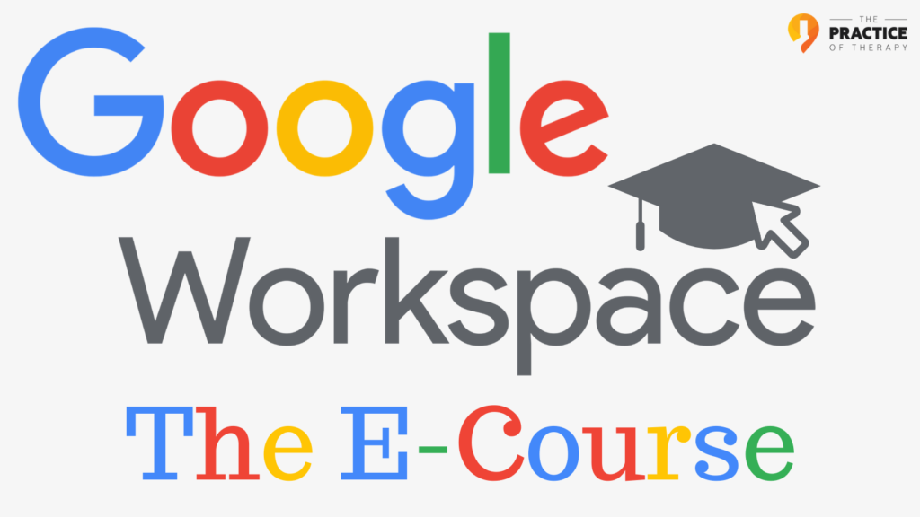 Google Workspace The E-Course