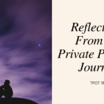 Reflections From My Private Practice Journey TPOT 199